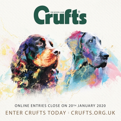 Crufts 2020 – entries closing soon